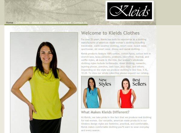 Kleids Women's Clothing B2B
