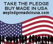 We Pledge Made in USA Made in America Gifts